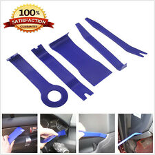 5 pcs blue Car Audio Gps Radio Door Trim Panel Dash Install Remover Tools Set