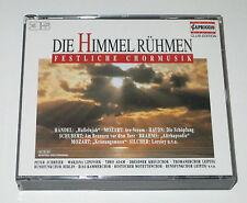 3 CD BOX/DIE HIMMEL RÜHMEN/FESTLICHE CHORMUSIK/SCHREIER/LIPOVSEK/RIAS KAMMERCHOR