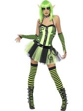Tainted Wild Ivy Elf Costume S UK 8/10 HALLOWEEN CLEARANCE Ladies Fancy Dress