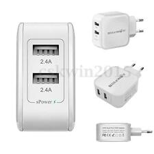 BlitzWolf EURO 24W Intelligent New Dual USB Ports Charger For Phones/Tablet/iPad