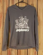 Indy Runner Greenlayer Gray Long Sleeve Women's Size Small