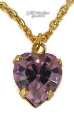"DISCONTINUED June Birthstone Alexandrite Necklace for 18"" American Girl Doll"