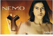 PUBLICITE  2000   CACHAREL PARFUM NEMO (2 pages)