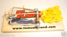 1 Tomcat MOUSE TRAP Classic Wooden Snap Traps no baiting wood rat VICTOR STYLE