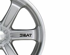 6x Car Alloy Wheel Sticker fits Seat Leon Altea Alhambra  Decal Adhesive PT92