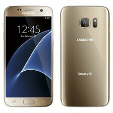 Samsung Galaxy S7 SM-G930T 32GB Gold Platinum T-Mobile Simple Family Near Mint