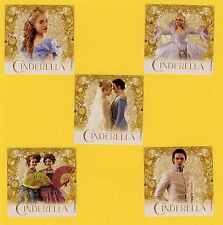 15 Cinderella Movie- Large Stickers - Party Favors - Rewards