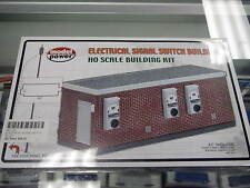 Model Power  HO Structure Kit - Electrical Signal Switch Building #490-185