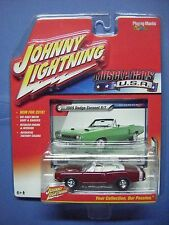 JOHNNY LIGHNING MUSCLE CARS U.S.A. #5B 1969 DODGE CORONET R/T (RED)