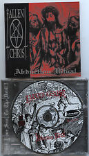 "FALLEN CHRIST""Abduction ritual"" ORG cd 96,Immolation"