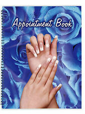 6 COLUMN APPOINTMENT BOOK 100 Pages BEAUTY, HAIRDRESSING, MASSAGE, TATTOO, LASER