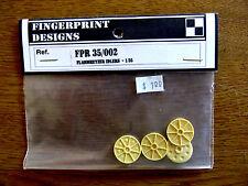 Vintage Fingerprint Designs #FPR 35/002  Flammhetzer Idlers 1/35
