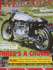 The Classic Motor Cycle 10/06 Triton, Indian,Greeves, BSA Unit Twins, Enfield,CZ