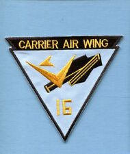 CVW-16 CARRIER AIR WING SIXTEEN US Navy CAG Squadron Cruise Jacket Patch