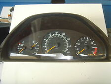 MERCEDES E CLASS W210 INSTRUMENT CLUSTER CLOCKS  A2105404348