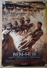 Ben Hur Double Sided Authentic Movie Poster 27x40
