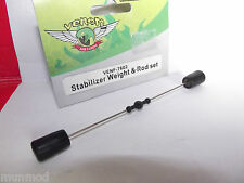 VENOM STABILIZER WEIGHT & ROD SET 7602 AIR CORP,ALPINE RESCUE HELICOPTERS
