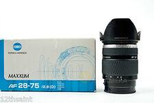 Konica Minolta AF 28-75mm F/2.8 D Lens for Sony