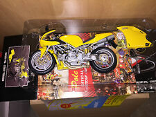 MINICHAMPS 1:12 DUCATI 996 - STREET VERSION YELLOW VERY RARE