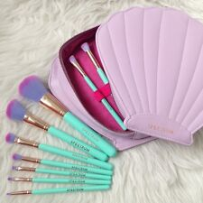 NEW Spectrum Brushes 10 pcs Gleam Clam Brush Set  Mermaid Dreams US Seller