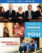This Is Where I Leave You (Blu-ray/DVD, 2014, 2-Disc Set, Includes Digital Copy)