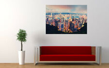 HONG KONG VIEW NEW GIANT LARGE ART PRINT POSTER PICTURE WALL