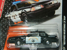 Matchbox 2014 ´93 Ford Mustang 5.0 LX SSP Highway Patrol, OVP!