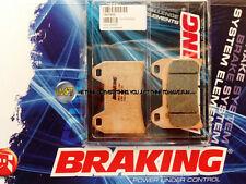 KTM LC4 SUPERMOTO 640 2006 06 PASTIGLIE ANTERIORE SINTERIZZATE FRENO BRAKING CM5