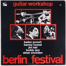 GUITAR WORKSHOP: Baden Powell, Barney Kessel, Buddy Guy BERLIN Jazz Blues LP