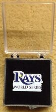 Tampa Bay Rays World  Series  press pin 2008 mint in box