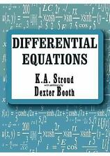 Differential Equations by Dexter J. Booth and Kenneth A. Stroud (2004,...