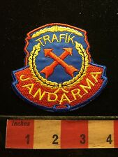 Jandarma Trafik Patch ~ (thought To Be A Replica Traffic Patch From Turkey) S60B