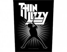 THIN LIZZY logo silhouette - 2013 - GIANT BACK PATCH - 36 x 29 cms