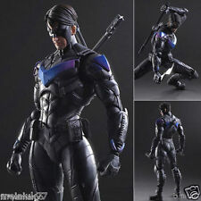 "DC Universe Batman Arkham Knight Play Arts Kai Nightwing 10"" Action Figure Toys"