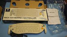 Nintendo Gamecube Official Rare Ascii Keyboard Controller CiB Boxed