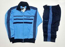 Adidas full tracksuit track suit vintage retro old school pants jacket 80 m