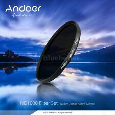 Andoer 67mm ND1000 10 Stop Fader Filter Optical glass for DSLR Camera Z5C7