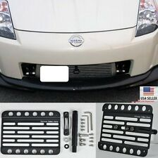 For 03-05 Nissan 350Z Z33 Front Tow Hook License Plate Mount Relocator Bracket