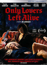 Only Lovers Left Alive, Acceptable DVD, Hiddleston, Tom, Jarmusch, Jim