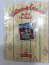 Wallace And Gromit Stamp Pin Badge. Royal Mail 2010 Christmas Promotion