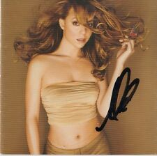 "Mariah Carey Autogramm signed CD Booklet ""Butterfly"""