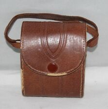 Vintage Brown Leather Case for Folding Camera