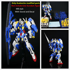 FPM Avalanche modified parts MB style for Bandai MG 1/100 GN-001 Exia Gundam