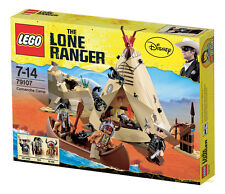 Lego The Lone Ranger 79107 COMANCHE CAMP Indians Western Teepee Minifigs NISB
