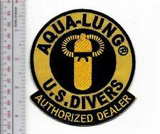 SCUBA Diving USA US Divers Aqua-Lung Authorized Dealer 1960 & 70's Patch