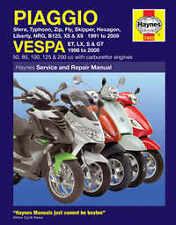 Vespa ET2 ET4 GTV Haynes Manual Repair Manual Workshop Manual  1997-2009