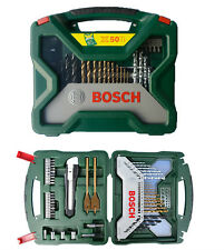Bosch Multi-Purpose 50pc X line Bit Set - Driver Drill Bits Wood concrete metals
