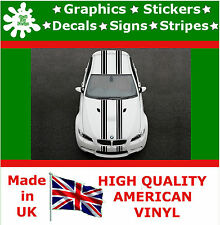 "Dual 6"" Racing Stripes Stickers Decal Art Car Auto Rally Graphics Sport JDM P1_6"