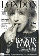 MARIANNE FAITHFULL Sofie Gråbøl THE LONDON MAGAZINE OCTOBER 2014 LONDON PROPERTY