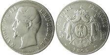 NAPOLEON  III  ,  5  FRANCS  ARGENT  TÊTE  NUE  ,  1855  A  PARIS